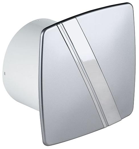 bad l fter wand ventilator 100 timer feuchtesensor linea weiss satin ebay. Black Bedroom Furniture Sets. Home Design Ideas
