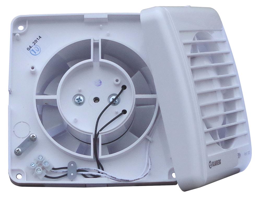 bad l fter wand ventilator feuchtesensor kugellager 100. Black Bedroom Furniture Sets. Home Design Ideas