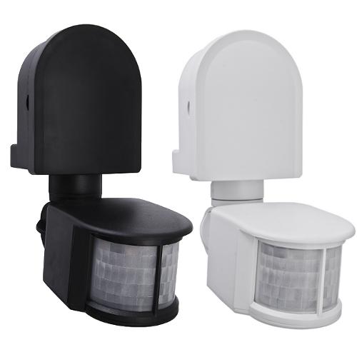 infrarot bewegungsmelder 180 1200w schwenkbar f r innen und aussen ip44 cr 2 ebay. Black Bedroom Furniture Sets. Home Design Ideas