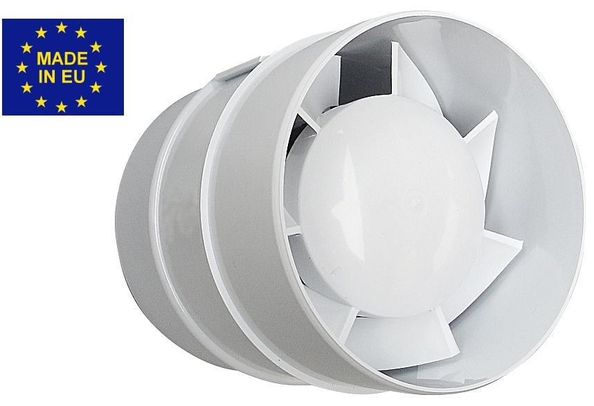 kanall fter rohrventilator ventilator 125 mm hardi h309 ebay. Black Bedroom Furniture Sets. Home Design Ideas